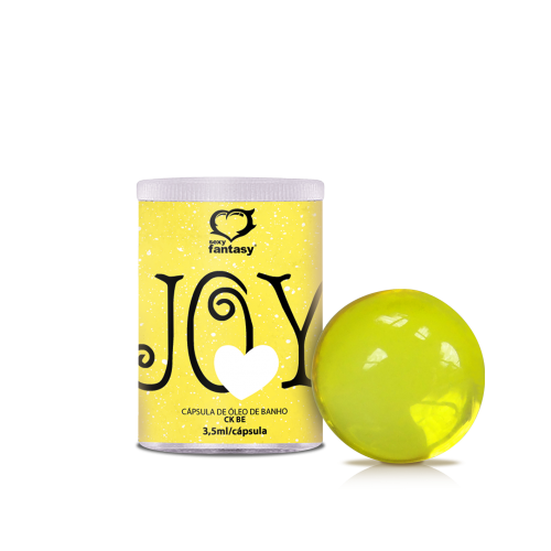 BOL. AROMÁTICA JOY YELLOW C/ 1 - CK BE