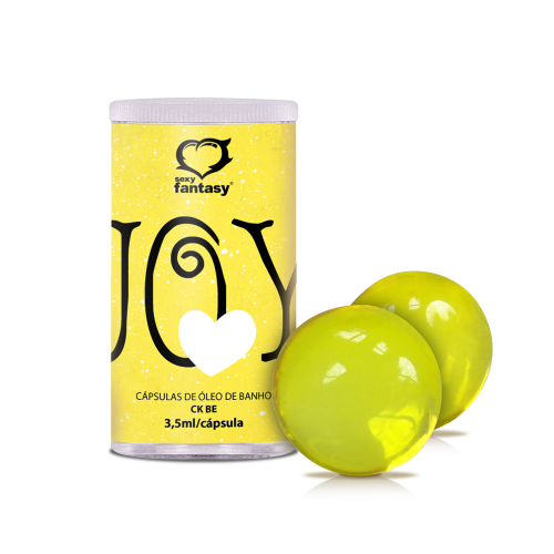 BOL. AROMÁTICA JOY YELLOW C/2 - CK BE