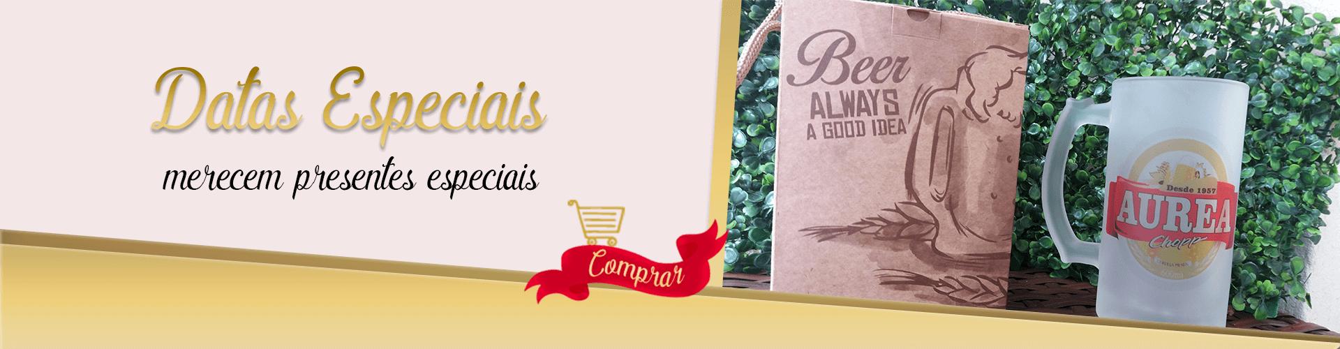 Datas Especiais merecem presentes especiais, personalizamos com todo carinho para você! Veja mais produtos!