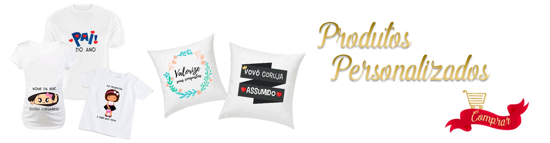 Produtos Personalizados - Almofadas, Camisetas personalizados com fotos e temas especiais , veja mais.