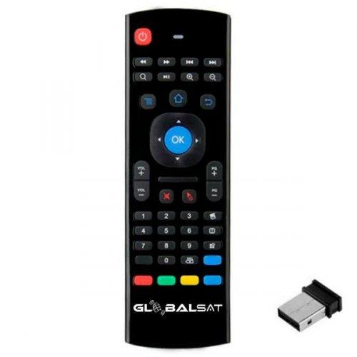 Controle Remoto para Receptor Globalsat GS-05 / Air Mouse com Microfone