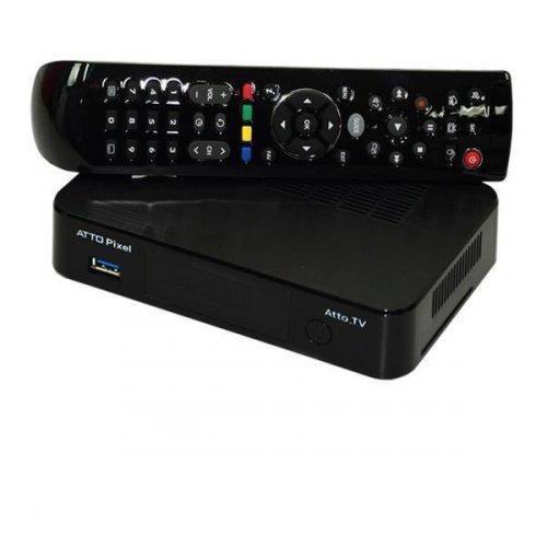 Receptor Atto TV ATTO Pixel Ultra HD 4K Bluetooth HDMI USB