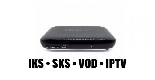 Receptor Gosat Pro HD iptv iks sks