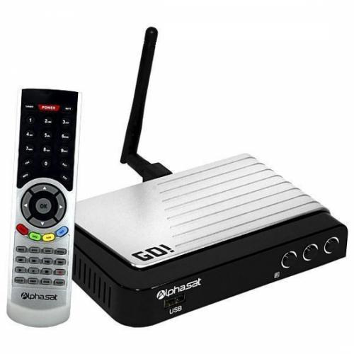 Receptor Alphasat GO / IKS-SKS-IPTV / Wi-Fi / ACM - MEGA PROMOÇÃO!